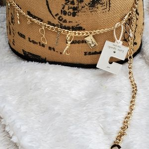 Kate Spade Charm belt M/L